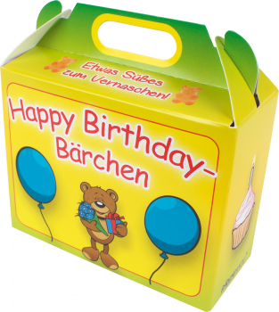 Happy-Birthday-Bärchen Gummibärchen