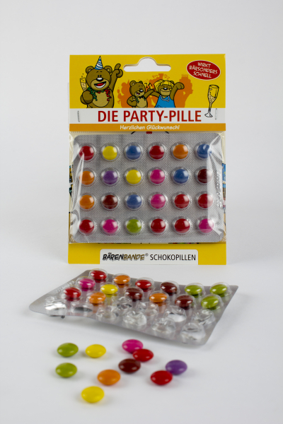 Die Party-Pille Schokolinsen